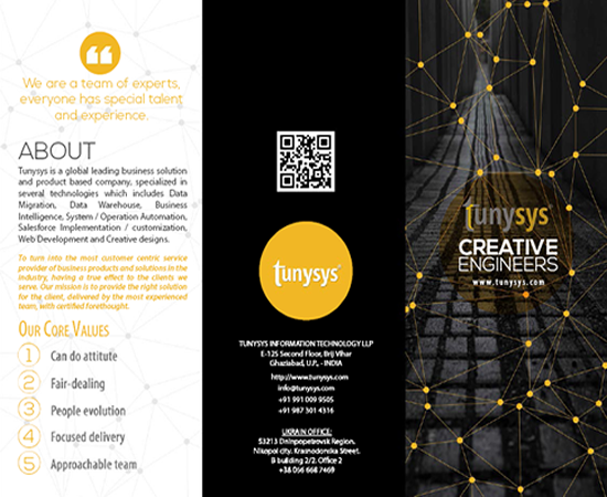 Top brochure design company in India